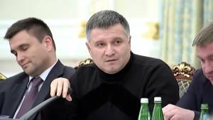 Аваков опубликовал видео конфликта с Саакашвили. 14.12.2015