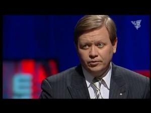 Рябцев: «Когда нефть подешевела гривна также подешевела на 53%». 27.01.2016