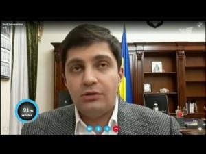 Сакварелидзе: «Это внутреннее противостояние ценностей. Это война за новую Украину». 26.02.2016