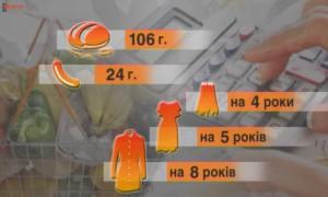 Потребительская корзина украинца 2016: выжить любой ценой