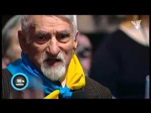 90-летний гость студии Шустер LIVE в прямом эфире обратился к украинскому народу. 25.03.2016