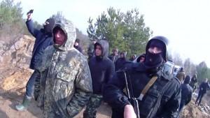 Янтарные войны: в стычке под Ровно пострадали полицейские!