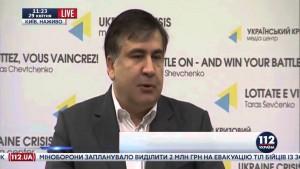 Сакашвили: Савик Шустер — целая эпоха в журналистике.