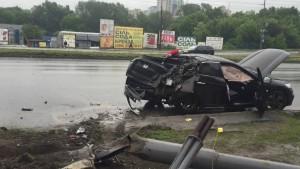 Автомобиль Антона Геращенко попал в серьезное ДТП