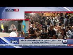 Савченко: «Крым вернется, если начнется Третья мировая»