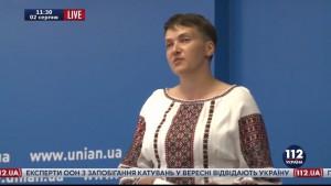 Полное видео пресс-конференции Нади Савченко: власть в шоке