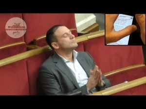 Добкин купил тур за 135 000 евро, а потом употреблял наркотики прямо в зале ВР!