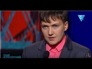 Савченко становится независимым политиком и поведет за собой движение. 25.11.2016