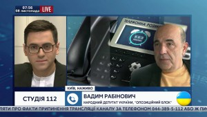 Рабинович: «Саакашвили вместо одесского чуда построил одесскую яму»
