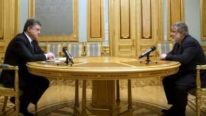 Реакция Коломойского на национализацию ПриватБанка