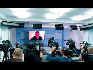 Пресс-конференция Онищенко о коррупции в Украине