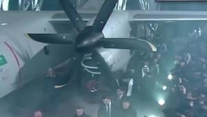 «Антонов» презентовал новый грузовой самолет АН-132D. 20.12.2016