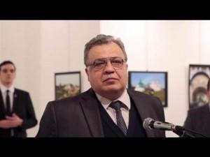 Свидетель заснял убийство посла РФ в Анкаре. Видео 18+
