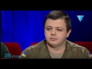 «Я поддерживаю их действия»- Семенченко о блокаде оккупированных территорий. 27.12.2016